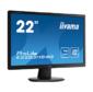 """Iiyama E2283HS-B3 LCD 21, 5"""" 16:9 1920х1080 TN,  250cd / m2,  H170° / V160°,  1000:1,  80M:1,  16, 7M Color,  1ms,  VGA,  HDMI,  DP,  Tilt,  Speakers,  3Y,  Black"""