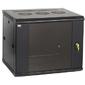 ITK LWR5-15U64-GF Шкаф LINEA W 15U 600x450 мм дверь стекло,  RAL9005