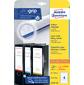 Этикетки Avery Zweckform L4761-25 A4 61x192мм 4шт на листе/80г/м2/25л./белый самоклей. универсальная