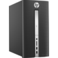 HP Pavilion 510-p120ur MT Intel Pentium G4400T,  4GB,  1TB,  AMD Radeon R5 435 2G,  DVDRW,  USB kbd / mouse,  Black,  Win10Home64