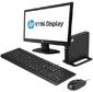 HP Bundle 260 G1 MiniDT Celeron 2957U,  4Gb,  500Gb,  Intel HD,  GbitEth,  WiFi,  клавиатура / мышь,  Win10Home64,  1-1-1 Wty + monitor V196