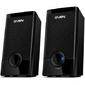 SVEN 318,  чёрный,  акустическая система 2.0  (USB,  мощность 2x2.5Вт),  черный