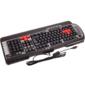 Keyboard A4Tech G800V,  USB чёрная,  128 клавиш, 15 игровых клавиш,  мультимедиа,  USB,  влагозащищенная
