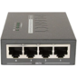 4-Port 802.3at 30W High Power over Ethernet Injector Hub - 120W External Power Adapter