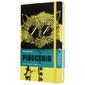 Блокнот Moleskine LIMITED EDITION PINOCCHIO LEPIQP060A Large 130х210мм 240стр. линейка твердая обложка черный/желтый The Cat
