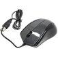 A4Tech N-400-1  (сер.глянец) USB,  2+1 кл.-кн., провод.мышь