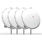 MikroTik MTRADC4 Radome Cover for mANT30,  4-pack