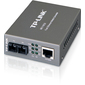 TP-Link MC110CS,  10 / 100Мбит / c RJ45 to 100Мбит / c single-mode SC fiber медиа-конвертер