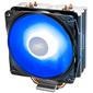 DEEPCOOL GAMMAXX 400 V2 BLUE LGA1366 / 115X / AM4 / AM3 / + / AM2 / + / FM2 / + / FM1  (20шт / кор,  TDP 180Вт,  PWM,  Blue Led Fan 120mm,  4 тепл. трубки прямого контакта ) RET