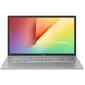 """ASUS VivoBook 17 X712FB-BX014T Intel Core i5 8265U / 8Gb / 1Tb HDD+128Gb SSD / 17.3"""" NanoEdge HD+ 1600x900 AG / Illuminated KB / GeForce MX110 2Gb / WiFi / BT / Cam / ErgoLift / Windows 10 / 2.3Kg / Silver"""