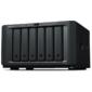 Synology DS1618+  QC2, 1GhzCPU / 4GbDDR4 (upto32) / RAID0, 1, 10, 5, 5+spare, 6 / upto 6hot plug HDD SATA (3, 5' or 2, 5') (upto16 with 2xDX517) / 3xUSB3.0 / 2eSATA / 4GigE (+1Expslot) / iSCSI / 2xIPcam (upto40) / 1xPS / 3YW