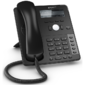 SNOM Global 710 Desk Telephone Black