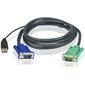Aten 2L-5202U CABLE HD15M / USB A (M)--SPHD15M (G) 1.8m