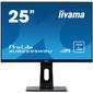 "Iiyama 25"" ProLite XUB2595WSU-B1 черный IPS LED 4ms 16:10 HDMI M / M матовая HAS 1000:1 300cd 178гр / 178гр 1920x1200 D-Sub DisplayPort FHD USB 5.2кг"