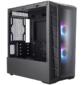 Cooler Master MasterBox MB320L,  2xUSB3.0,  2x120 ARGB Fan,  w / o PSU,  Black,  mATX