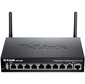 D-Link DSR-250N / C1A,  Wireless N300 VPN Gigabit Router with 1 10 / 100 / 1000Base-T WAN ports,  8 10 / 100 / 1000Base-T LAN ports and 1 USB ports.Firmware for Russia. 802.11b / g / n compatible,  802.11N up to 300