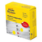 Этикетки Avery Zweckform 3852 800шт на листе диаметр 10мм / 70г / м2 / желтый самоклей. универсальная  (упак.:1рул)