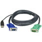 CABLE HD15M / USB A (M)--SPHD15M,  5M