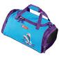 Step By Step 00119708,  Сумка спортивная Step By Step Happy Dolphins,  голубой / фиолетовый,  36x20x19 см,  16 л,  0.488 кг