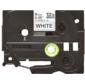 Этикетка Brother Гибкая идентификационная ламинированная лента TZe-FX221  (9мм черн шрифт на белом фоне,  8м)