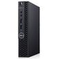 Dell Optiplex 3070 Micro Core i3-9100T  (3, 1GHz) 4GB  (1x4GB) DDR4 500GB  (7200 rpm) Intel UHD 630 W10 Pro TPM 1 years NBD