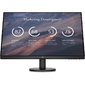 HP P27v G4 27 Monitor FHD,  IPS,  16:9,  300 cd / m2,  1000:1,  5ms,  178° / 178°,  VGA,  HDMI,  Tilt,  Low Blue,  Black Head