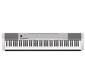 Цифровое фортепиано Casio CDP-130SR  (88клав,  5тон,  MIDI,  2х8Вт,  кнопка Hall Effect,  серебристый)