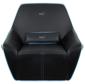Диван для геймера Aerocool P7-CH2 AIR ,  черно-синий,  размер  (Ш x Г x В) : 119см x 90см x 109см