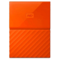 "Western Digital My Passport WDBLHR0020BOR 2TB,  2.5"",  USB 3.0,  Ultra slim,  Orange  (D8B)"