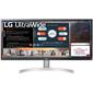 "LG 29"" 29WN600-W IPS LED,  2560x1080,  5ms,  250cd / m2,  1000:1  (Mega DCR),  178° / 178°,  2*HDMI,  DP,  HDR10,  колонки,  AMD Freesync,  75Hz,  Tilt,  VESA,  Silver-Whit"