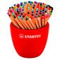 Набор ручек капиллярных Stabilo POINT  (EA88 / 150-3) 0.4мм 20цв. желтый ассорти чернила дисп.керам.  (150шт)