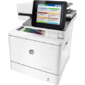 HP LaserJet Enterprise Flow MFP M577c  (p / c / s / f,  A4,  1200 dpi,  38 (38)ppm,  1, 75Gb,  320Gb encr,  2trays 100+550,  ADF 100,  Duplex,  Stapler,  USB / GigEth / FIH,  color LCD TS, repl.CD646A)