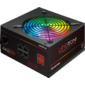 Chieftec CTG-650C-RGB  (ATX 2.3,  650W,  >85 efficiency,  Active PFC,  RGB Rainbow 120mm fan,  Cable Management) Retail