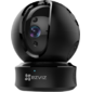 Ezviz C6C 720P WIFI Fast PT camera,  1 megapixel resolution  (1280720),  Two-way audio,  Physical privacy mask,  Auto PT tracking,  10 meters IR range  (for night use),  upto 128G SD card supported