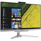 "Моноблок Acer Aspire C24-865 23.8"" Full HD i3 8130U  (2.2) 4Gb SSD128Gb UHDG 620 CR Windows 10 Home GbitEth WiFi BT 65W клавиатура мышь Cam серебристый 1920 x 1080"