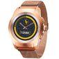 Гибридные смарт часы MyKronoz ZeTime Elite Petite миланский сетчатый браслет цвет матовое розовое золото,  39 мм