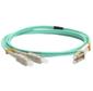 Патч-корд оптический LANMASTER,  дуплексный,  LC / PC-SC / PC,  OM3,  LSZH,  2.0 м