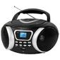 Аудиомагнитола BBK BX170BT черный / серебристый 4Вт / CD / CDRW / MP3 / FM (dig) / USB / BT
