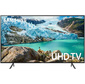"Телевизор LED Samsung 43"" UE43RU7100UXRU 7 черный / Ultra HD / 100Hz / DVB-T2 / DVB-C / DVB-S2 / USB / WiFi / Smart TV  (RUS)"