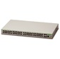Allied Telesis 48 x 10 / 100T ports and 4 x 100 / 1000X SFP  (2 for Stacking),  Fixed AC power supply,  EU Power Cord