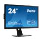 "Iliyama B2483HSU-B1DP LCD 24.0"" [16:9] 1920х1080 TN,  nonGLARE,  250cd / m2,  H170° / V160°,  5М:1,  2ms,  VGA,  DVI,  HDMI,  DP,  USB-Hub,  Height adj.,  Pivot,  Tilt,  HAS,  Speakers,  3Y,  Black"