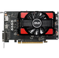 VGA ASUS AMD Radeon RX 550,  4Gb GDDR5 / 128-bit,  PCI-Ex16 3.0,  1xDVI-D,  1xHDMI,  1xDP,  ATX,  2-slot cooler,  Retail