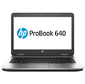 "HP ProBook 640 G2 14.0""(1366x768)/Intel Core i3 6100U(2.3Ghz)/4096Mb/500Gb/DVDrw/Int:Intel HD Graphics 520/Cam/BT/WiFi/48WHr/war 1y/1.98kg/silver/black/W10Pro"