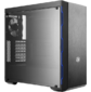 Cooler Master MasterBox MB600L w / ODD,  2xUSB3.0,  1x120Fan,  w / o PSU,  Black,  w / Blue Trims