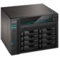 ASUSTOR AS6508T 8-Bay NAS / Media player / Intel Atom C3538 2, 1GHz (Quad-Core),  8GB SO-DIMM DDR4,  noHDD (HDD, SSD),  / 2x10GbE+2x2, 5Gbe (LAN) / 2xUSB3.2, HDMI / M.2 / 4ip camera license ; 90IX0201-BW3S10