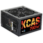 Aerocool KCAS PLUS 700W ATX12V Ver.2.4,  80+ Bronze,  fan 12cm,  550mm cable,  20+4P,  4+4P,  PCIe 6+2P x4,  PATA x4,  SATA x7 Retail