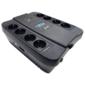 Powercom Spider SPD-750U,  Line-Interactive,  LCD,  AVR,  750VA / 450W,  Schuko,  black