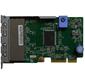 Lenovo TopSeller ThinkSystem 1Gb 4-port RJ45 LOM  (SR850 / SR950 / SR650 / SR630)