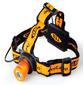 Фонарь налобный AceCamp Back light оранжевый / черный 1Вт лам.:светодиод. AAAx3  (1019)