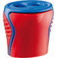 Точилка Maped Boogy 2 отверстие с непрозрачным контейнером два цвета
